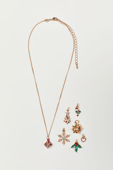 Necklace with pendants - Gold-coloured - Ladies | H&M