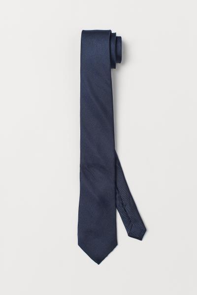 H&M - Cravate en reps de soie - 1