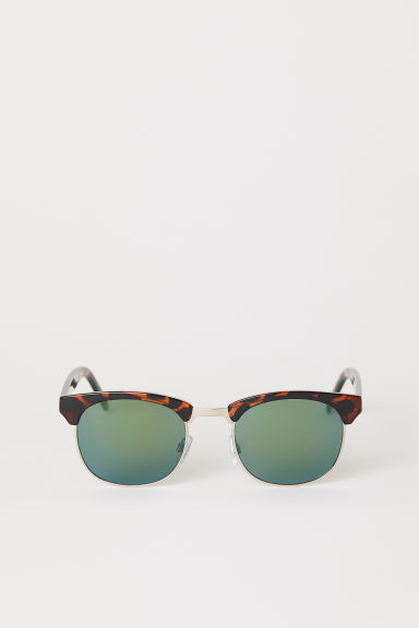 Sunglasses - Tortoiseshell/Green - Men | H&M