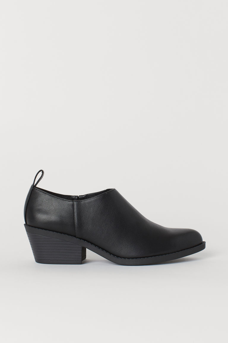 Boots - Black/faux leather - Ladies | H&M US