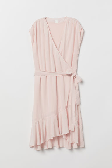 Flounced dress - Light pink - Ladies | H&M