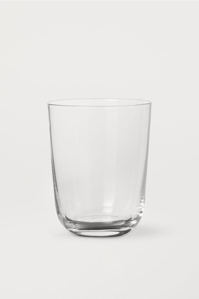 59e4ad32378 Vaso de vidrio - Vidrio transparente - HOME