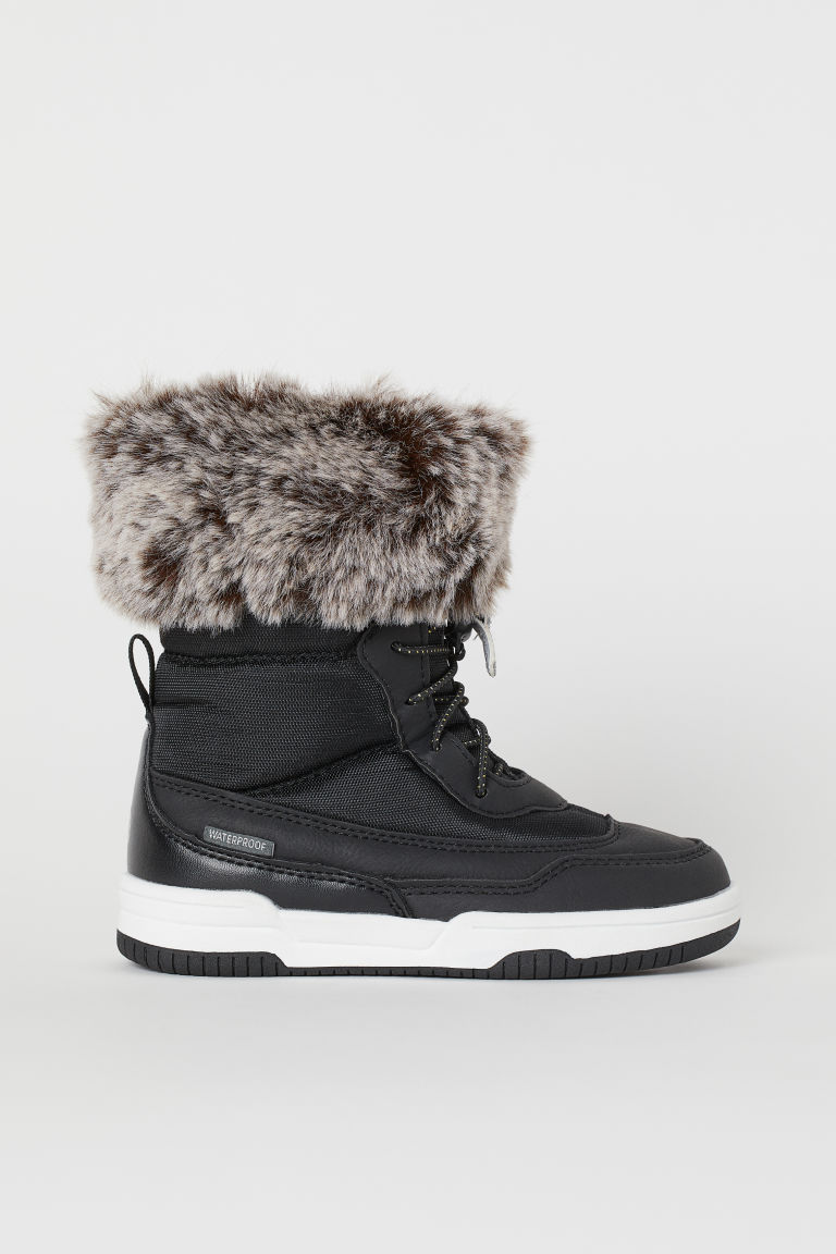 Waterproof boots - Black - Kids | H&M