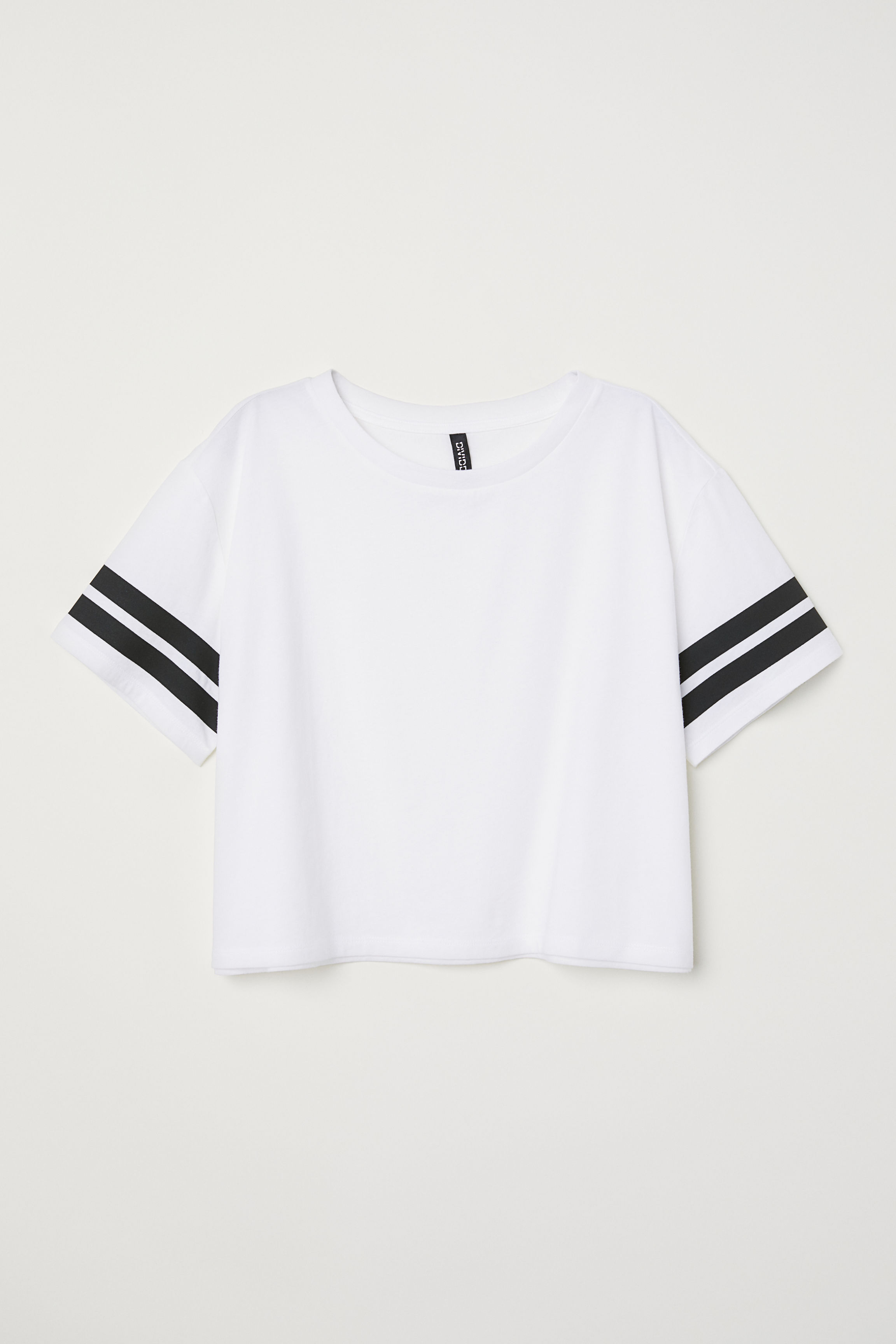 4f40d3072808 Cropped T-shirt - White Pizza - Ladies