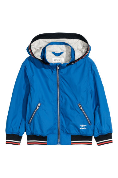 Nylon jacket - Bright blue - Kids | H&M