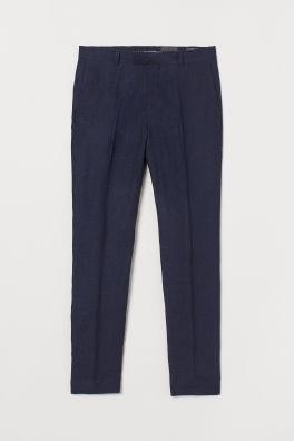 9f7307de7c3 Pantalon de costume aminci