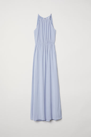 Long dress - Light blue - Ladies | H&M CN