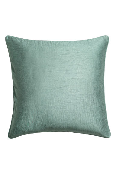 Crinkled cushion cover - Dusky green - Home All | H&M CN