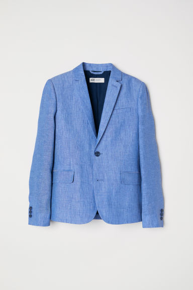 Linen jacket - Light blue - Kids | H&M
