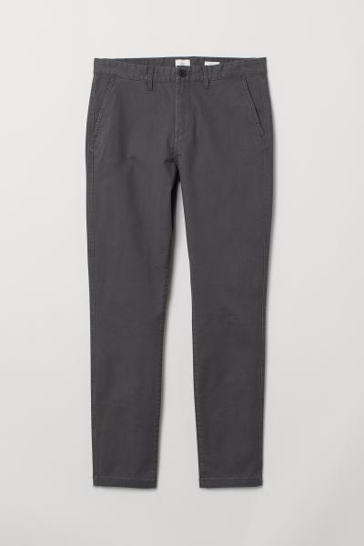 H&M - Chino en coton Skinny fit - 5