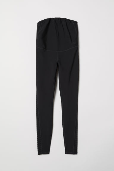 MAMA sports tights - Black - Ladies | H&M