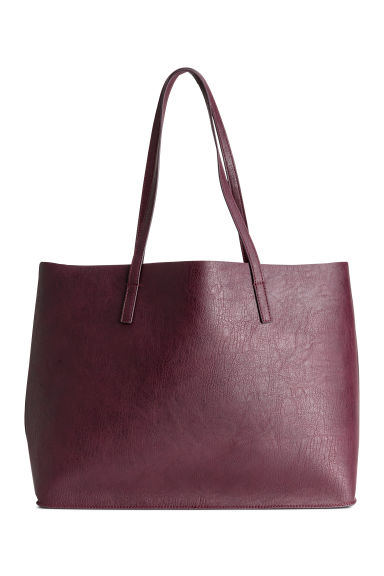 Reversible shopper - Burgundy -  | H&M
