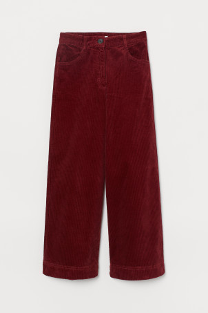 Cotton Corduroy Pants