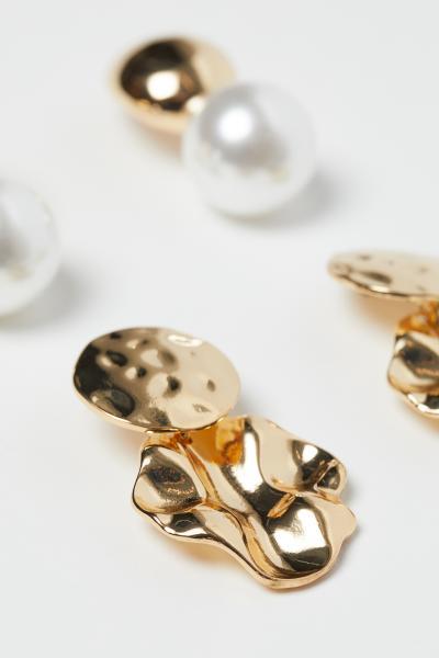 H&M - 2 pairs earrings - 2