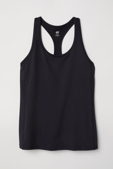 H&M+ Sports vest top - Black - Ladies | H&M