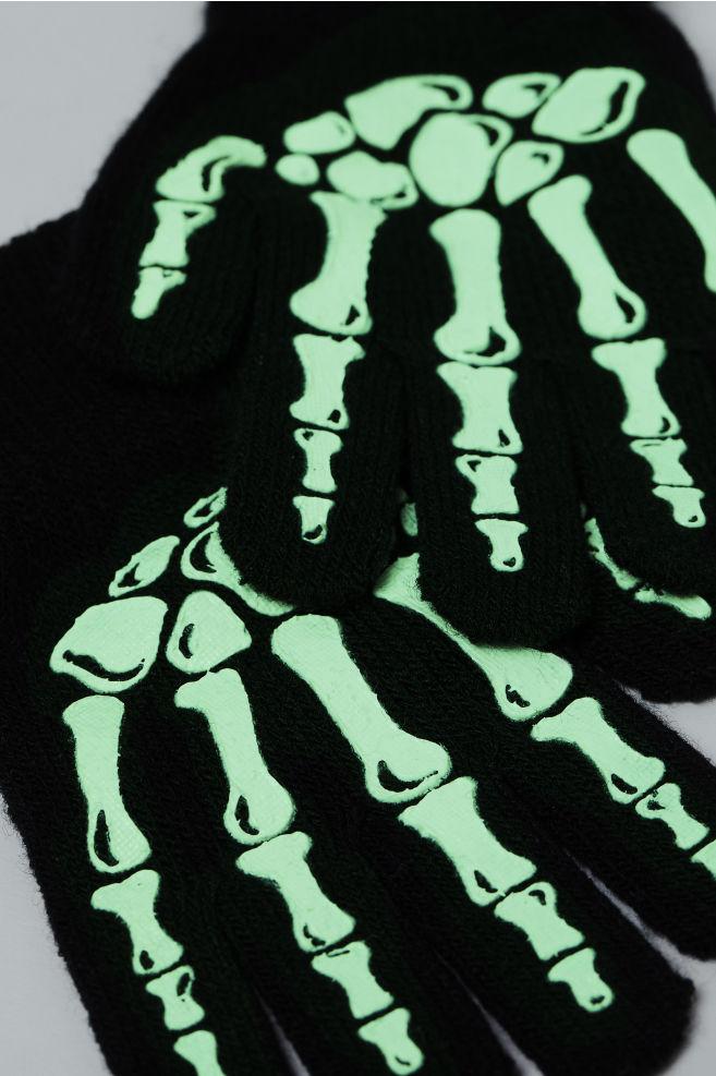 8835fe737ac1 Fancy dress gloves - Black/White - Kids | H&M ...