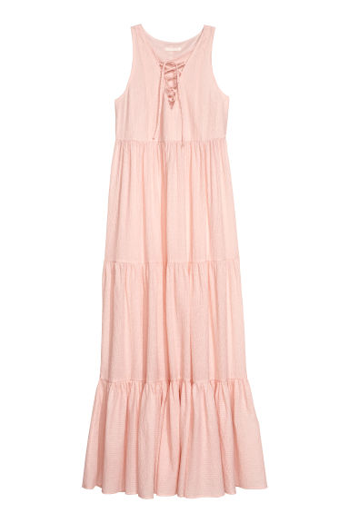 Long dress - Light pink -  | H&M