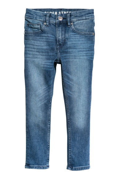 Superstretch Skinny fit Jeans - Deniminsininen - Kids | H&M FI