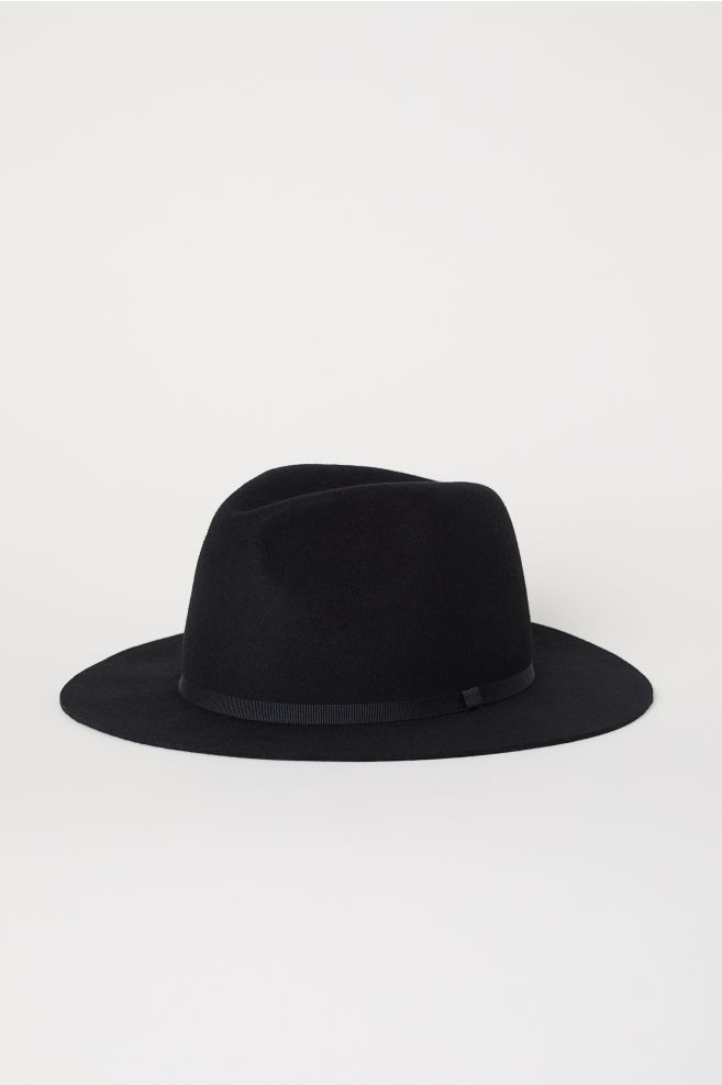 9f95b1e7 Felt hat - Black - Men | H&M 1