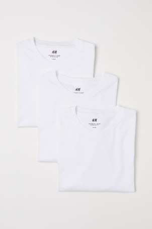 3-pack Regular Fit T-shirts