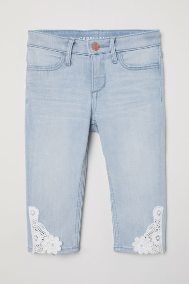 Capri Skinny Fit Jeans - Light denim blue - Kids | H&M