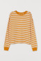 Dark yellow/White striped