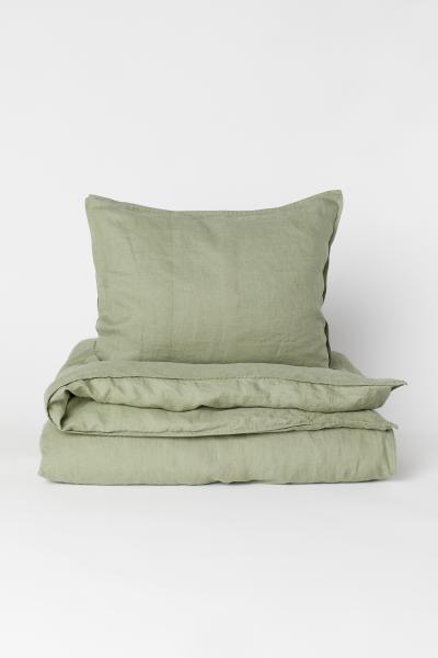H&M - Funda nórdica en lino lavado - 3