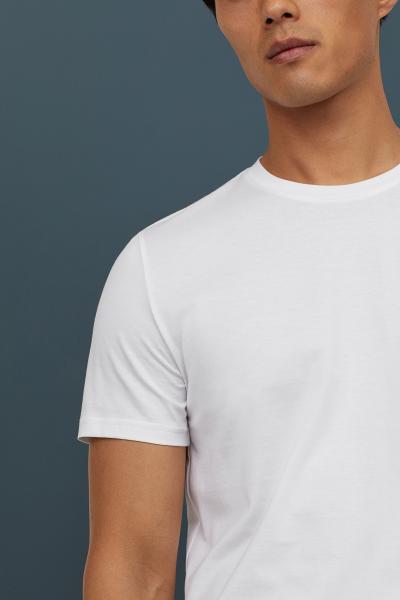 H&M - Camiseta en algodón premium - 2