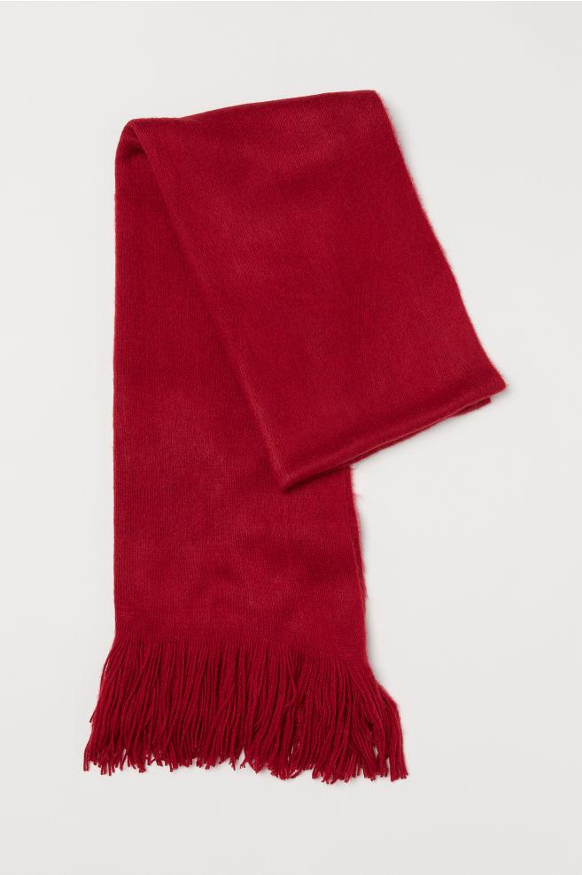 Halsduk - Röd - DAM  d531123bef951