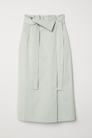 Calf-length skirt - Light green - Ladies | H&M