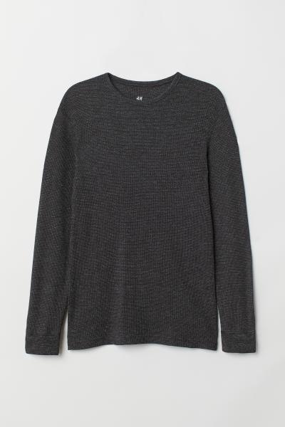 H&M - T-shirt gaufré - 5