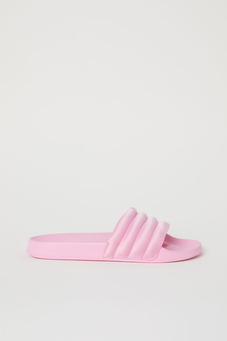Pool shoes - Light pink -  | H&M