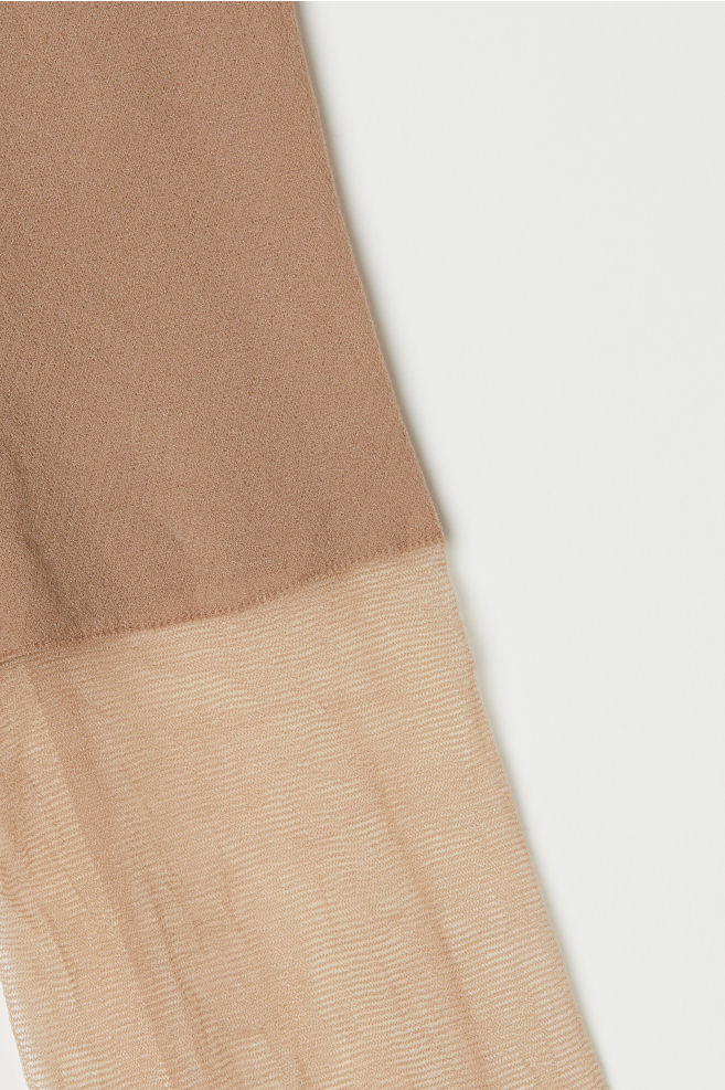 16966f159248b 2-pack 20 Denier Tights - Light amber - Ladies | H&M ...
