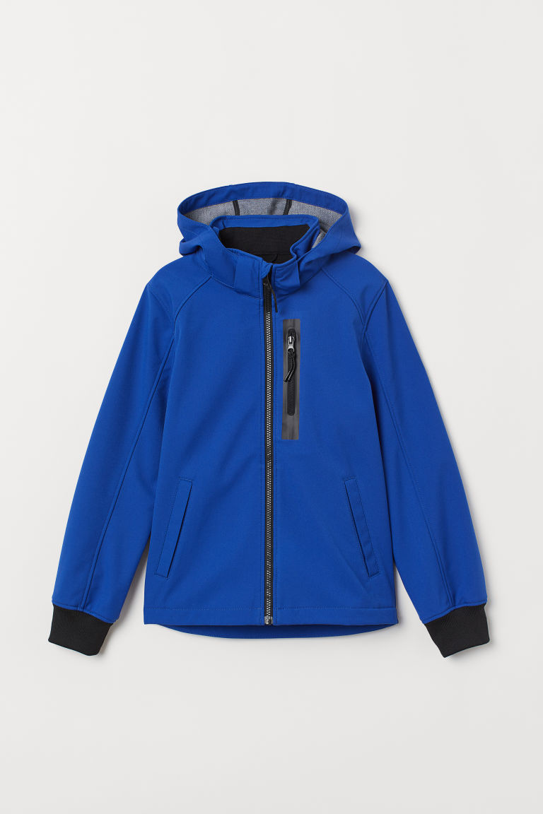 Softshell jacket - Cornflower blue - Kids | H&M IE