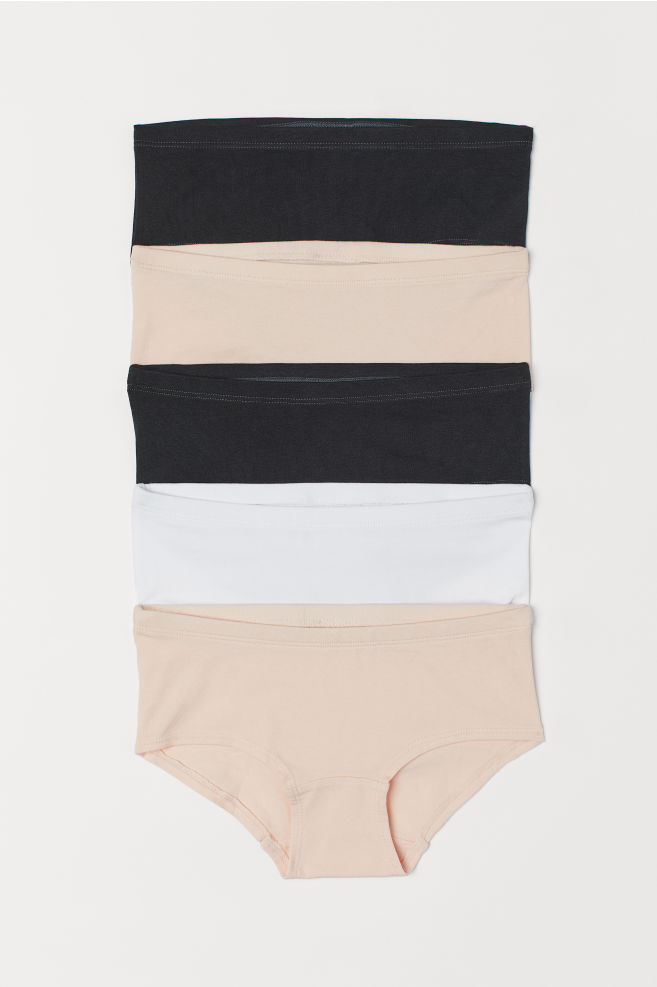 4eb6b77ff406 5-pack Cotton Briefs - Light pink - Kids | H&M ...