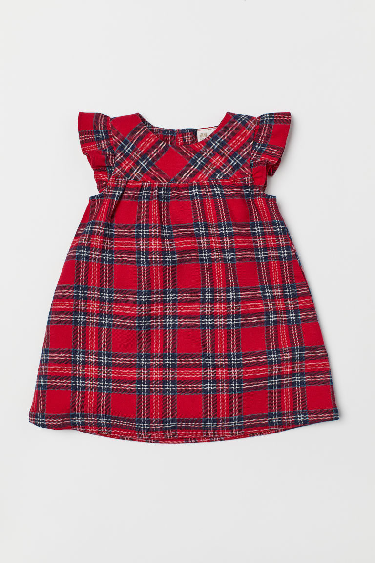 Dress - Red/Checked - Kids | H&M