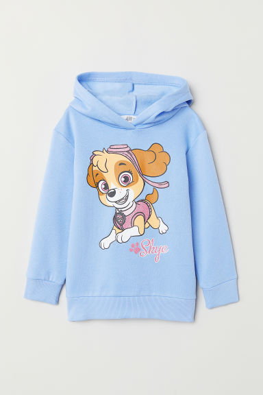 Hooded top with motifs - Blue/Paw Patrol - Kids | H&M CN