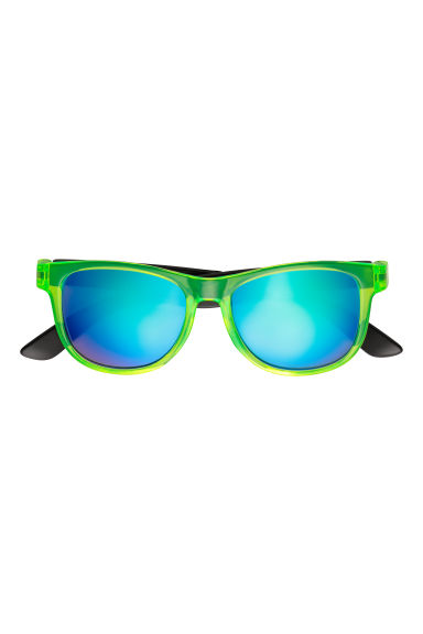 Sunglasses - Neon green/Black - Kids | H&M
