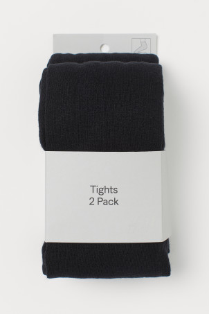 2-pack fine-knit tightsModel