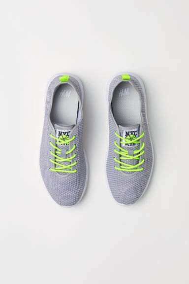 Fully-fashioned trainers - Light grey - Kids | H&M