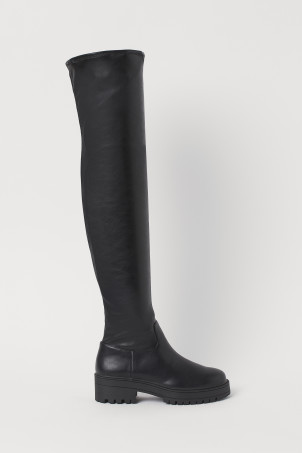 Thigh-high BootsModel