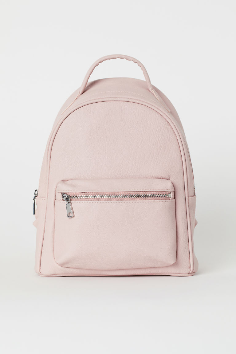 Small backpack - Powder pink -  | H&M GB
