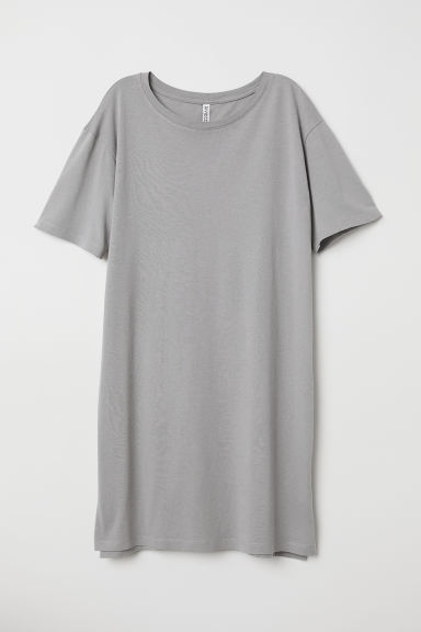 T-shirt dress - Grey - Ladies | H&M