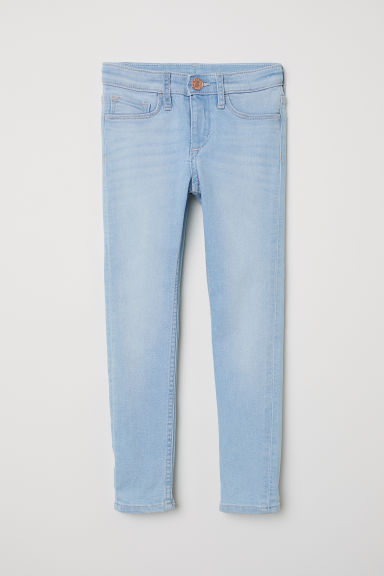 Superstretch Skinny Fit Jeans - Licht denimblauw - KINDEREN | H&M BE