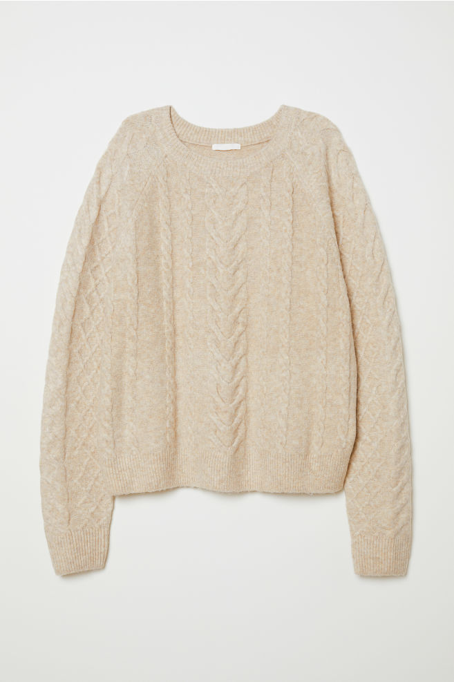 31ac05d5035 Cable-knit Sweater