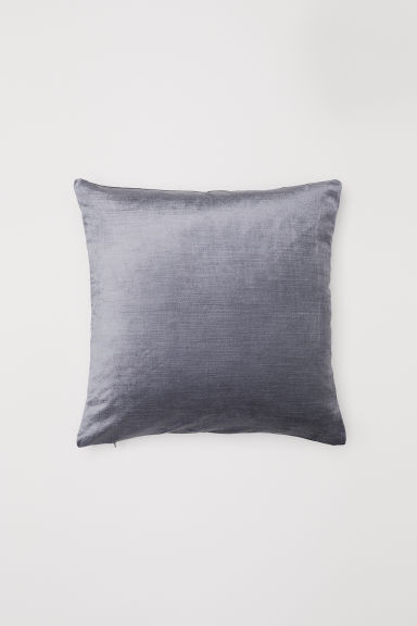 Velvet Cushion Cover - Gray - Home All | H&M US