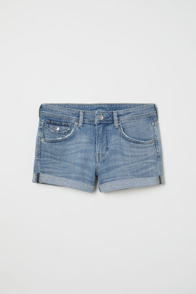 Shorts in denim - Blu denim - DONNA | H&M IT
