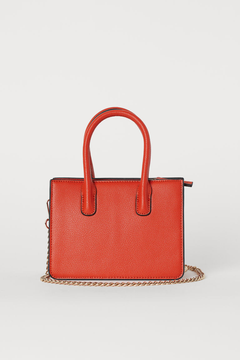 Mini handbag - Dark orange - Ladies | H&M GB