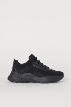 Chunky-soled trainers