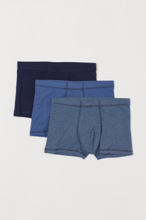 3-pack short trunks